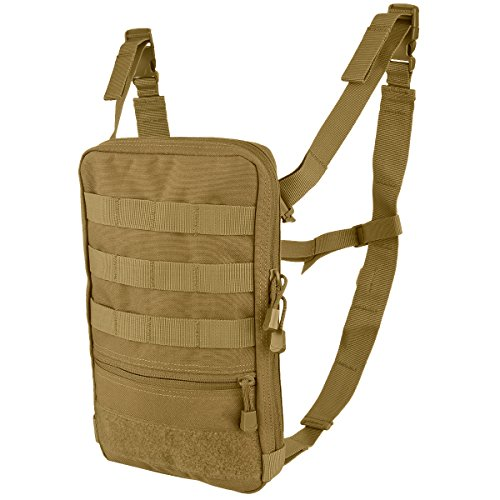 Hydration Pouch - CONDOR Outdoor Tidepool Hydration Carrier - Brown