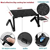 Vtechcom Laptop Table Stand With Cooling Fan
