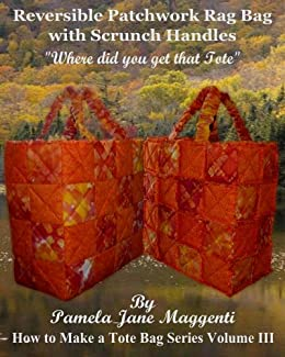 how to make a reversible bag with handles