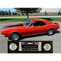 1969-1977 Camaro USA-630 II High Power 300 watt AM FM Car Stereo/Radio with iPod Docking Cable