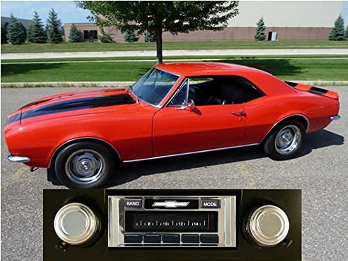 Custom Autosound Stereo compatible with 1969-1977 Camaro, USA-630 II High Power 300 watt AM FM Car Stereo/Radio