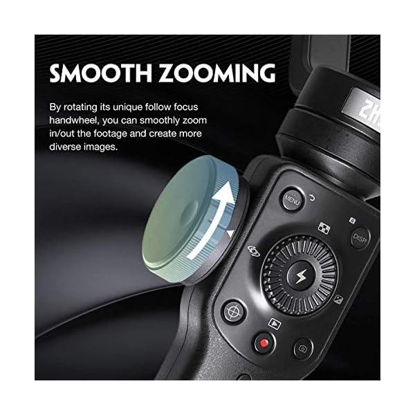 Zhiyun Smooth 4 3-assi stabilizzatore di cardano compatibile, Vertigo Shoot Focus Phonego Mode Focus Pull & Zoom… 2 spesavip