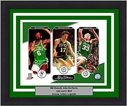 078ba50ee3945 Bill Russell, John Havlicek, Larry Bird Celtics 8