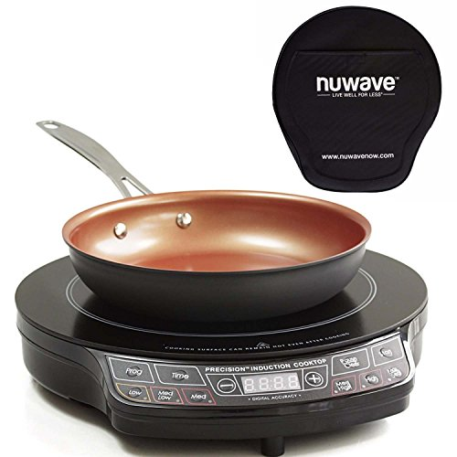 "NuWave PIC Gold Precision Induction Cooktop with 10.5"" Fry Pan and Storage Case by NuWave"