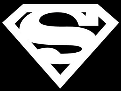 Superman Logo Decal Vinyl Sticker