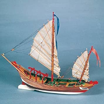 Amati - Kits modelismo naval maqueta barco Sampang: Amazon ...