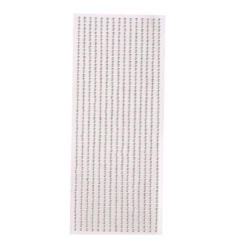 3mm self adhesive pearl gem strips - ideal for card making and decorations (Pearl Ivory) Crystals & Gems UK