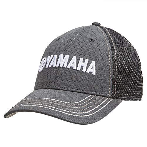 Yamaha New OEM Dry Fit Mesh Hat, Grey, - Baseball Cap Yamaha