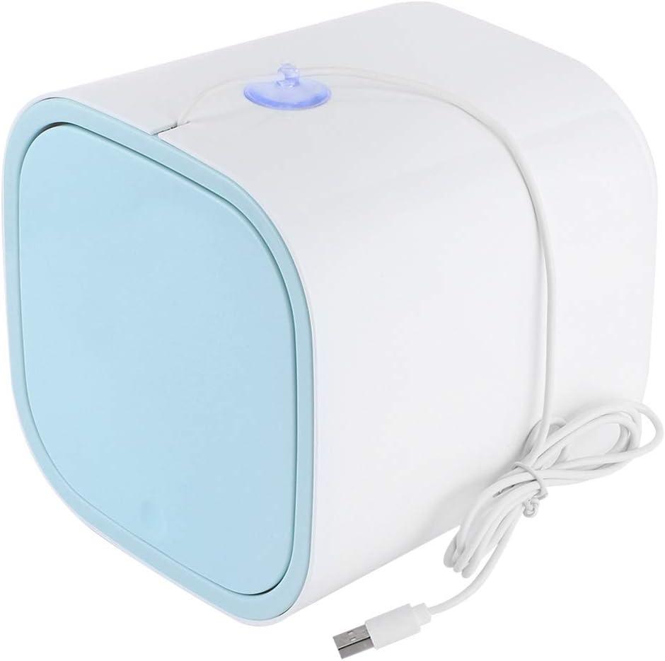 Mini lavadora, lavadora de sobremesa portátil de 3.8L, alimentada por USB, de poco ruido, mini lavadora para acampar, dormitorios, apartamentos, viajes de negocios