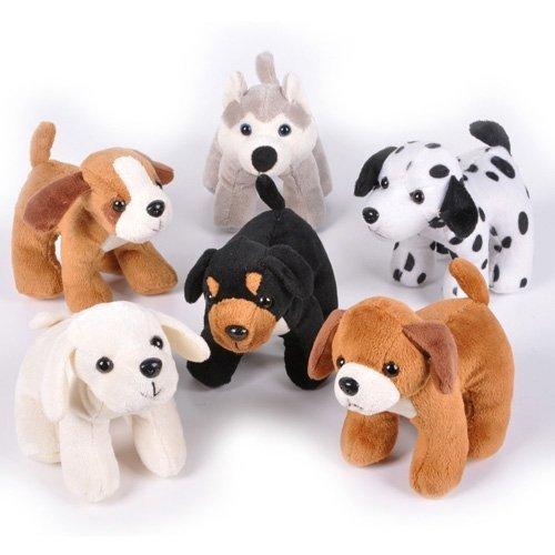 Plush Assortment (Dog Assortment - 12 per pack)