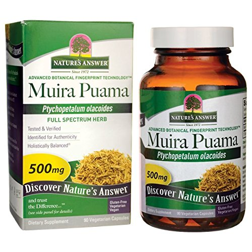 Natures Answer Muira Puama Bark (Nature's Answer Muira Puama Bark, 90-Count)