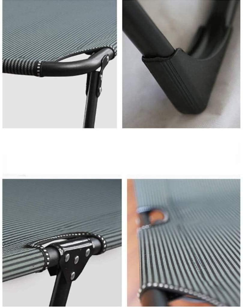 RECLINABILE Lettino Lounge Chair con Cuscini e Opzionale Spesso Pad, Schienale Regolabile 4 Posizioni, Esterna Portatile Giardino reclinabile xiuyun (Color : A) A