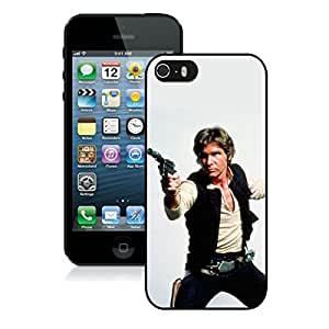 New Fashion Custom Designed Cover Case For iPhone 5S With Han Solo BlackPhone Case