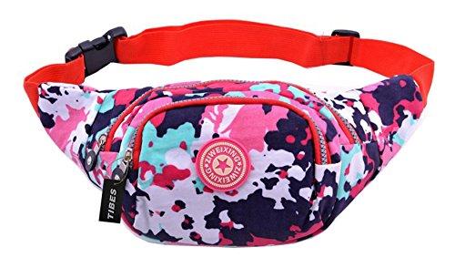 Tibes - Bolso al hombro para mujer Multicolor 1