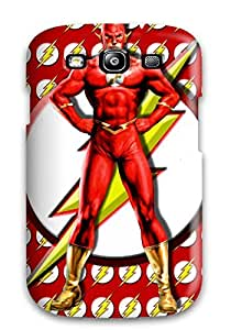 Hot The Flash First Grade Tpu Phone Case For Galaxy S3 Case Cover