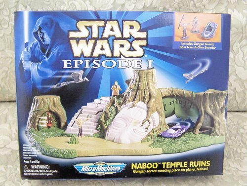 Star Wars Episode I MicroMachines - Naboo Temple Ruins by Hasbro