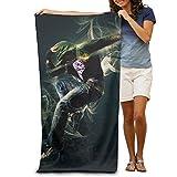 Super Absorbent Beach Towel Hip Hop Street Dance Polyester Velvet Beach Towels 31.551.2 Inch
