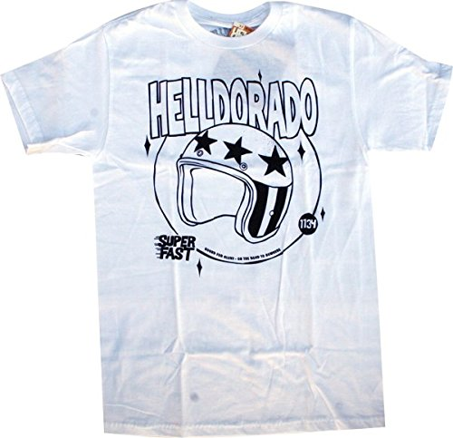 Helldorado Superfast Small White Short Sleeve