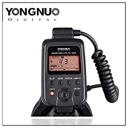 Yongnuo YN-14EX TTL Macro Ring Lite Flash Light for Canon EOS DSLR Camera with 4 Adapter Rings (52mm/58mm/67mm/2mm.) - Work as MR-14EX