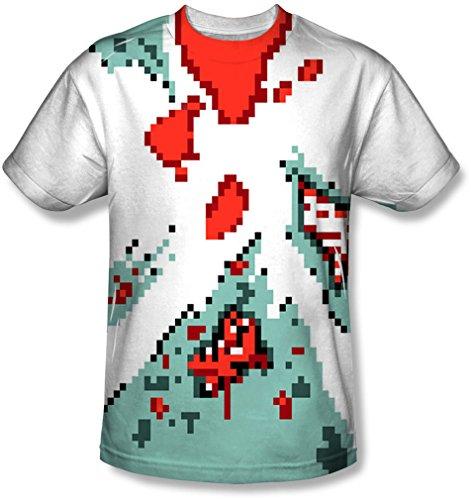 Sublimate Bit T Hommes shirt Zombie Pour White 8 6FaxqOwx