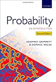 Probability: an Introduction, Grimmett, Geoffrey and Welsh, Dominic, 0198709978