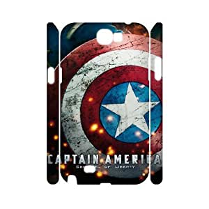 C-EUR Captain America 2 Customized Hard 3D Case For Samsung Galaxy Note 2 N7100 by lolosakes