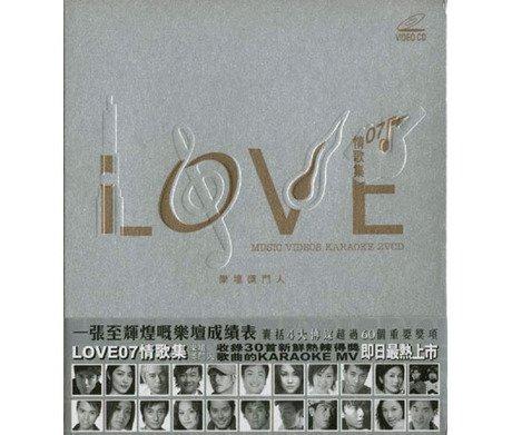 LOVE 情歌集 07 MUSIC VIDEOS KARAOKE 2VCD B00DTNF06Y