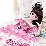 Realistic Reborn Baby Doll BJD Can Dressup for Child Birthday Xmas Present Gift Set 60Cm/23.6 Inch HMYH
