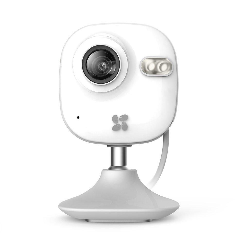 EZVIZ Cmini Cámara p HD Wi Fi con visión nocturna micrófono detector