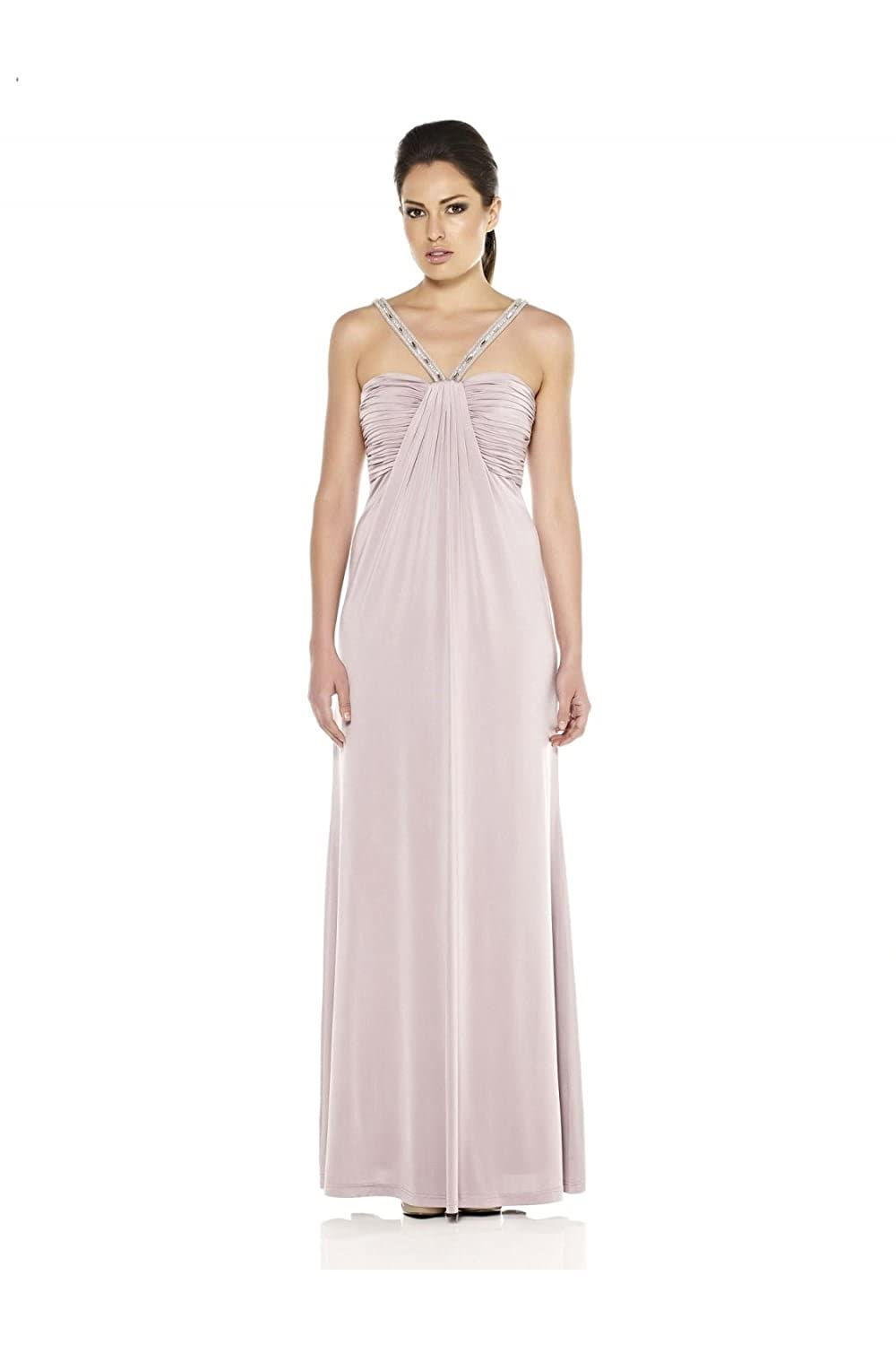 Dynasty 1012310 Lilac Jersey Evening Gown