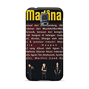 Anti-Scratch Hard Cell-phone Cases For Samsung Galaxy S5 With Allow Personal Design Stylish Papa Roach Series KaraPerron