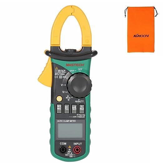 57 opinioni per Mastech MS2108A Multimetro pinza digitale/Voltometro digitale / multimetro /