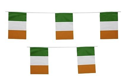 Amazon.com: Bandera de Irlanda St Patrick s Día Irlandés de ...