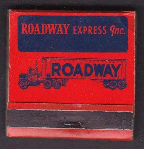 Roadway Express Inc matchbook