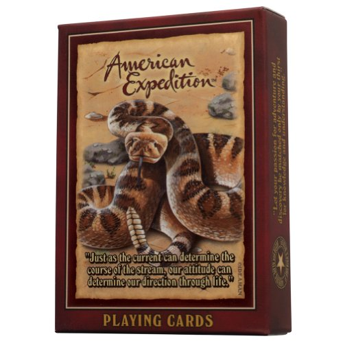 American Expedition Wildlife Playing Card Deck: ()