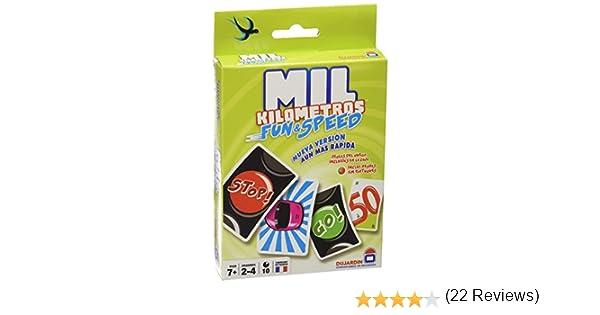 Asmodee Mil Kilómetros Fun & Speed - Juego de mesa (MIL01ES)