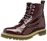 Bronx Womens Ankle Boots 46618-H Bordeaux Leather Boots 40 EU
