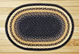 Cheap Earth Rugs 02-079 Oval Area Rug, 20″ x 30″, Light Dark Blue/Mustard