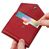 Lavemi RFID Blocking Small Compact Mini Bifold Credit Card Holder Leather Pocket Wallets for Women...