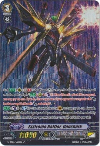 Cardfight!! Vanguard TCG - Exxtreme Battler, Danshark (G-BT06/S05EN) - G Booster Set 6: Transcension of Blade and Blossom ()