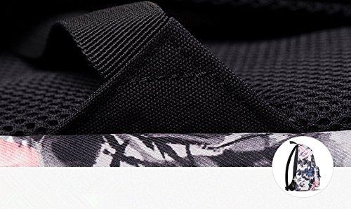 Noir Femme à Sac Tqingse pour Dos Dragonfly Y6ZxqwP