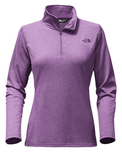 Womens 1/4 Zip Fleece - 4