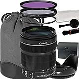 Canon EF-S 18-135mm f 3.5-5.6 IS STM Lens For Canon T3 T5 T6 T3i T5i T6i T6s 70D 60D 80D 700D 750D 600D 7D Mark II DSLR Cameras - International Version (No Warranty)