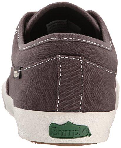 Simple Mens Wingman Fashion Sneaker Gray Canvas O7MOhhR