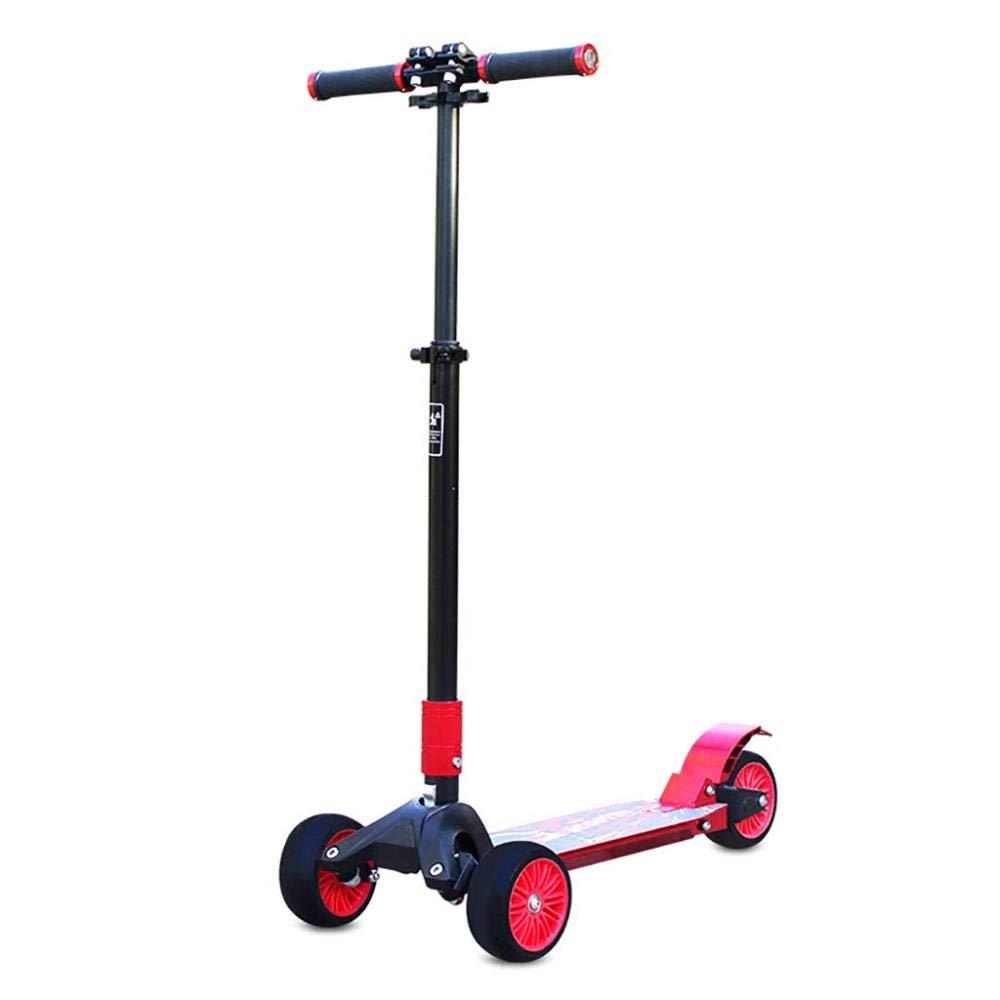¡envío gratis! CZZ Scooter de Aleación de de de Aluminio Juvenil Rueda de PU Plegable, Portátil, Carga Máxima 120 Kg,A,Coche  autorización