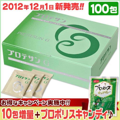 プロテサンG [100包+10包増量] +プロポリス飴100g B00AK832K2