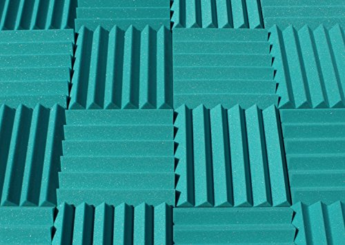 soundproofing-acoustic-studio-foam-teal-color-wedge-style-panels-12x12x2-tiles-4-pack