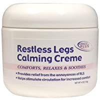 Restless Legs Calming Creme to Help Combat Fatigue, Irritability, Itching, Crawling...