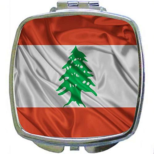 Square Compact Mirror Personal Mirror - Lebanon -
