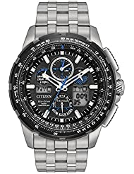 Citizen Mens Limited Edition Promaster Skyhawk A-T Super Titanium Silver Watch